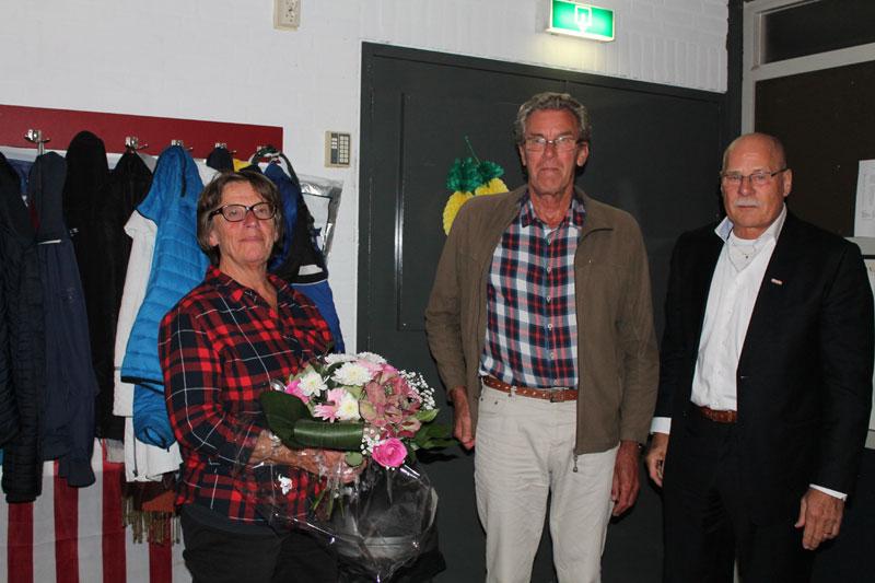 Piet Jonkers 25 jaar lid