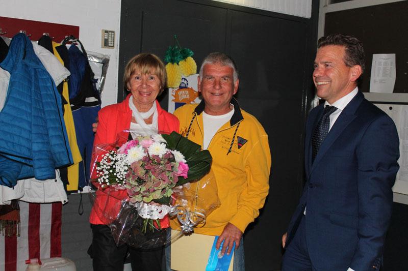 Peter van den Tillaart 40 jaar lid