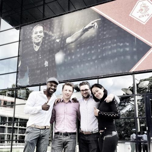 Ramon Beuk & KNVB 'lekker bezig' in voetbalkantines